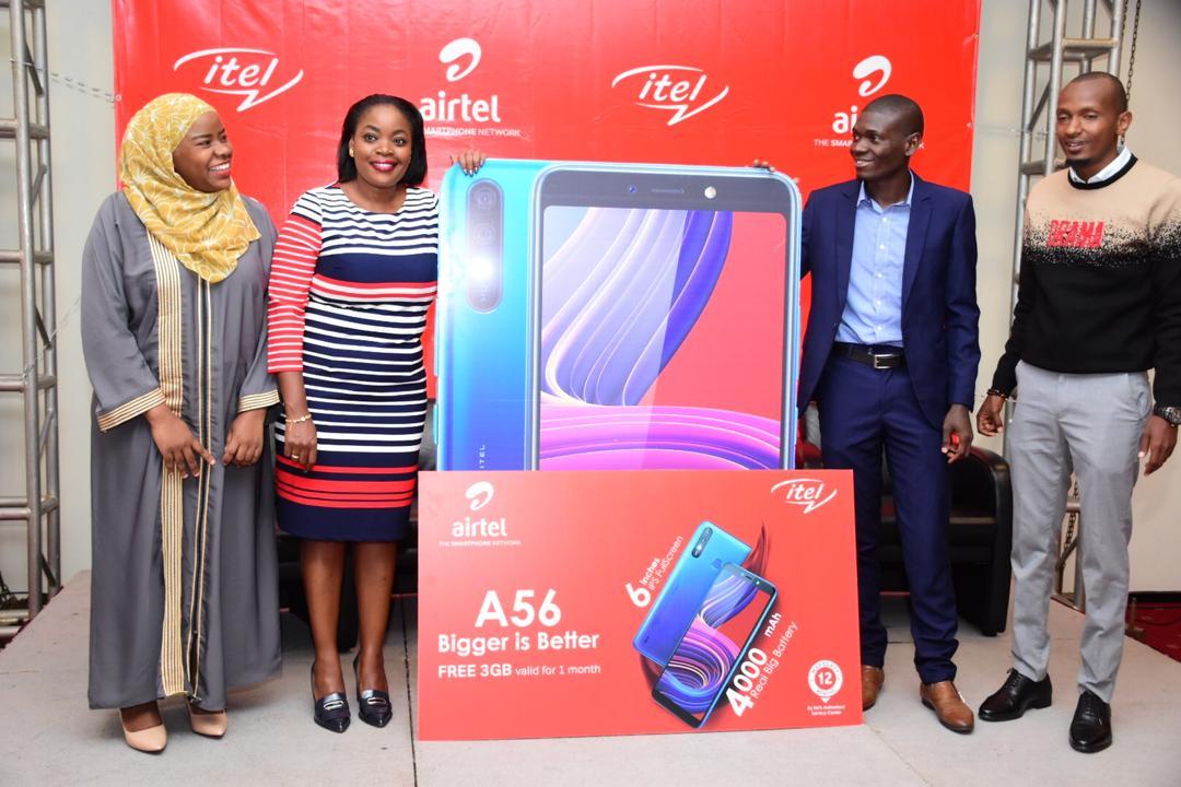 airtel uganda itel mobile