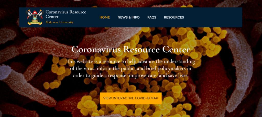makerere university coronavirus resource