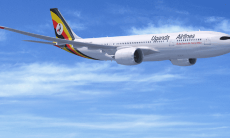 uganda airlines airbus delivery