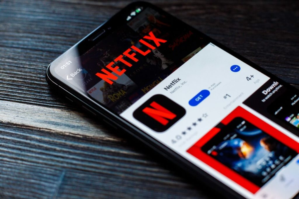 netflix screen lock