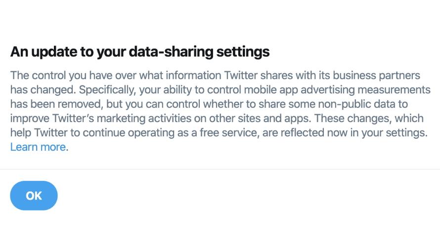 twitter data share