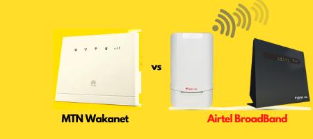 mtn wakanet airtel broadband