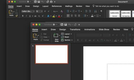 ms office dark mode
