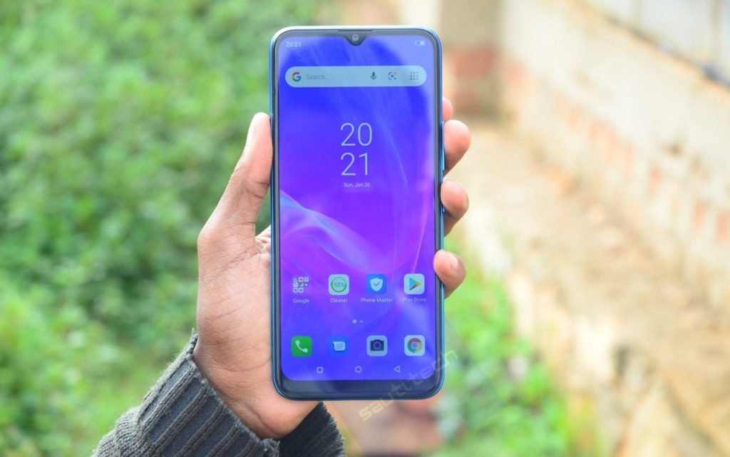 itel p36 display